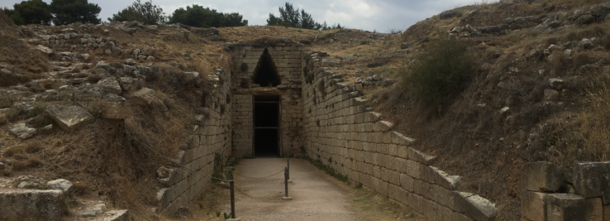The elephant in the tomb: Finding the Mycenaean 'blueprint' for rock-cut chambers