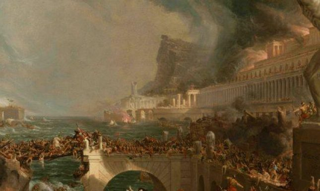 1 Cole destruction Rome painting dark ages edited