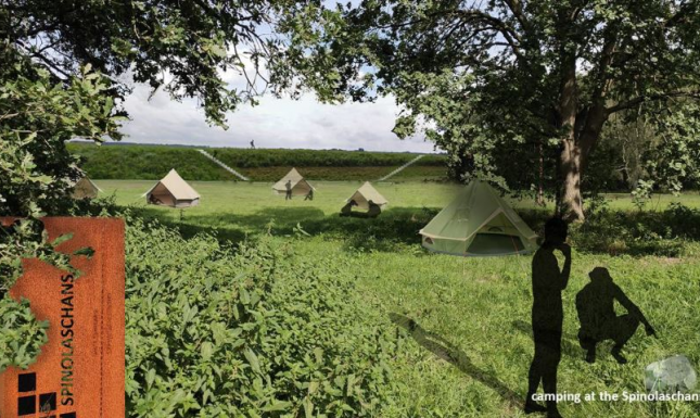 Camping at spinolaschans