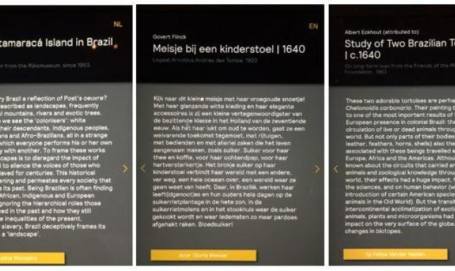 Mauritshuis digital labels