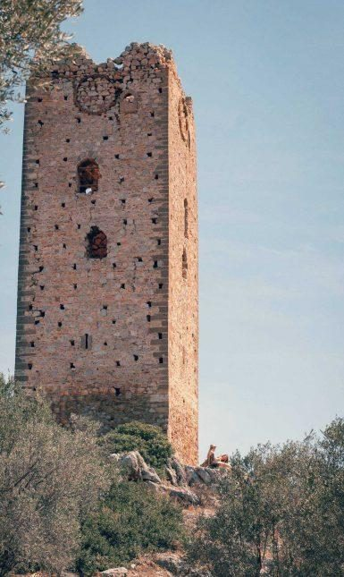 Frankish tower at Mytika 3